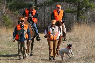Marion hunting trip to East Texas with Remi the German Shorthaired Pointer